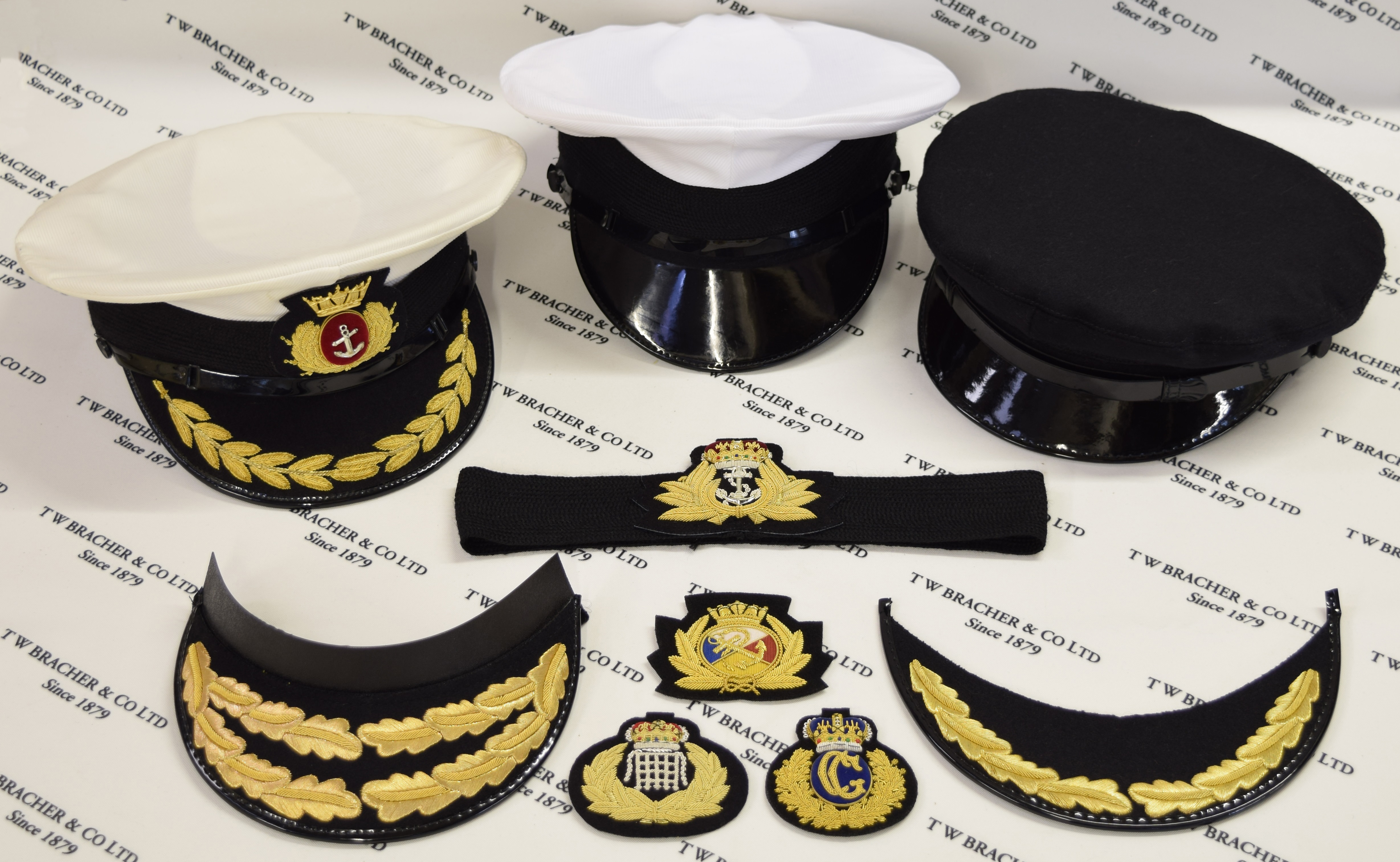Picture of royal navy frame caps
